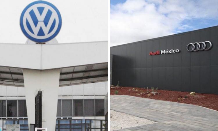 Volkswagen y Audi frenarán operaciones en México el 23 de marzo