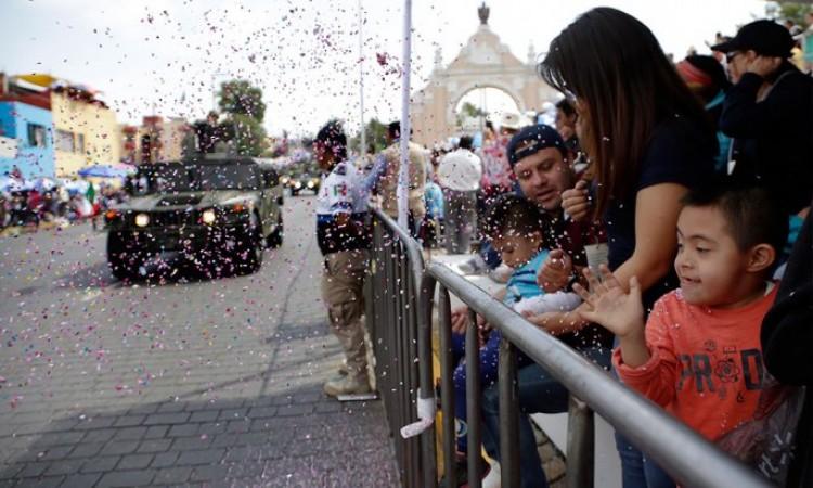 Cancelan en Puebla capital y municipios desfiles del 5 de Mayo