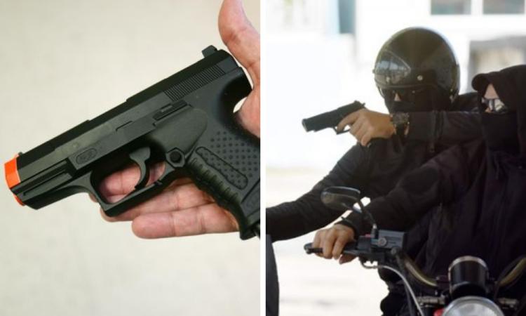 Proponen prisión a quien asalte con armas de juguete