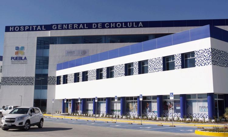 Ajustarán Hospital General de Cholula para atender casos de coronavirus