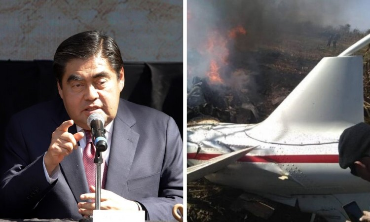 Se tendría que investigar y determinar responsabilidad sobre helicóptero: Barbosa
