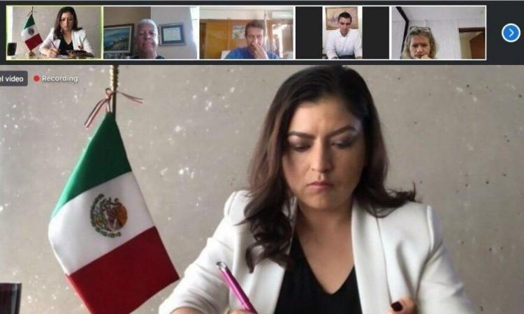 Participa Rivera Vivanco en encuentro virtual del Banco Interamericano de Desarrollo