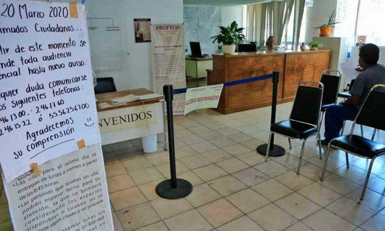 Contesta Profeco a Barbosa: Oficina sigue abierta