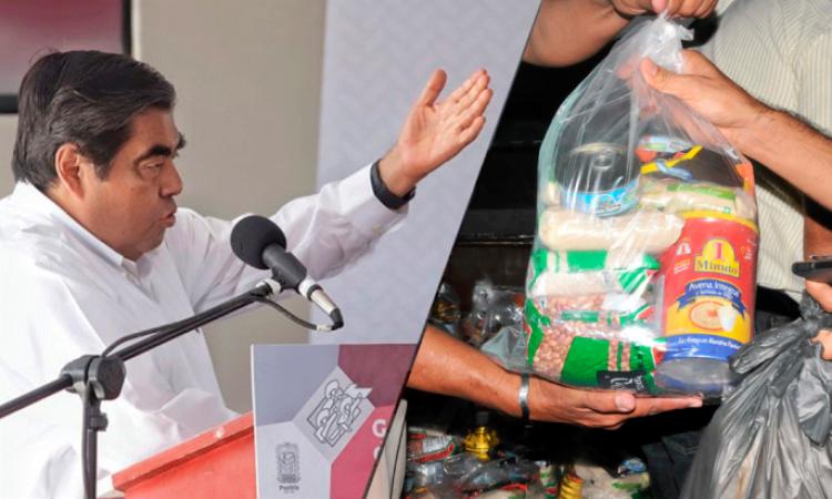 Gobierno iniciará entrega de apoyos alimentarios este fin de semana
