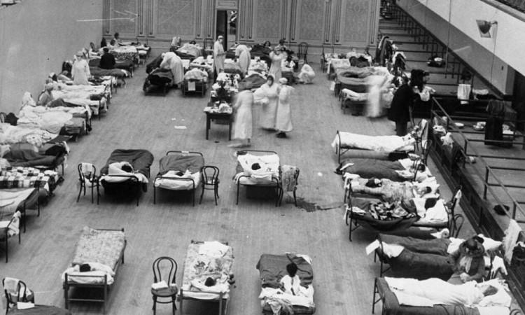 Gripe española en Puebla, una pandemia similar al Covid-19