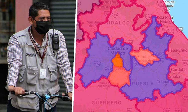 CDMX, Edomex y Puebla siguen con mayor número contagios