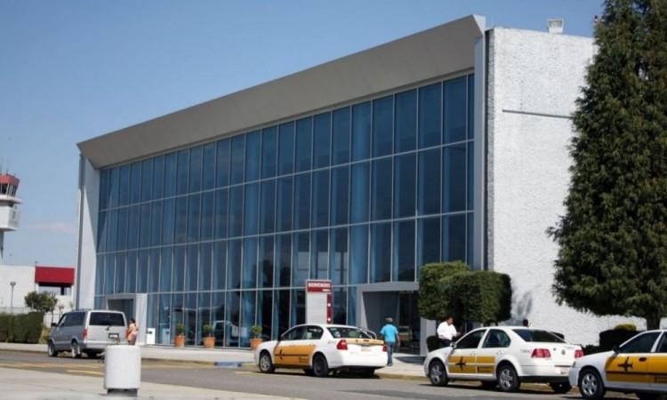 Aeropuerto de Puebla reporta 15% de operación por contingencia