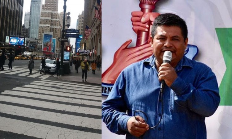 Muere exedil de Tepemaxalco en Nueva York por coronavirus