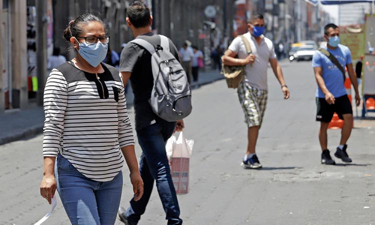 En ascenso, muertes y contagios por Covid-19 en Puebla