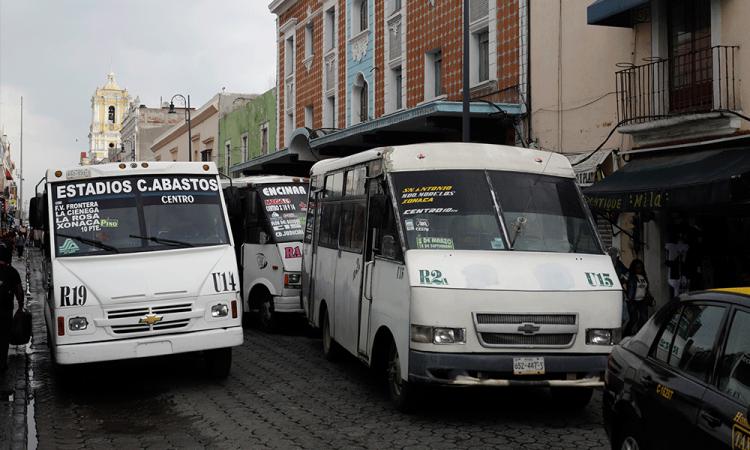 Anuncia SMT trayectos temporales del transporte público en el Centro