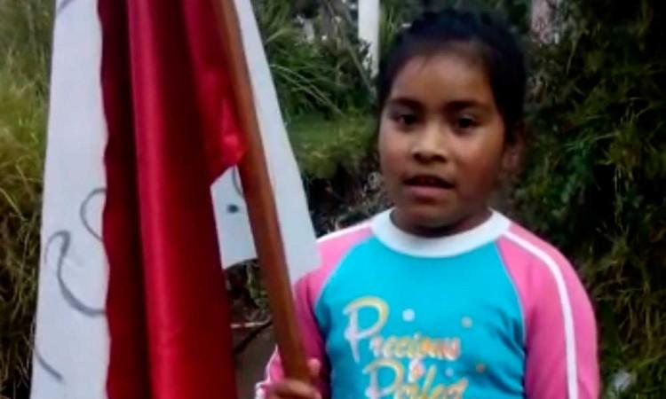 Piden niños apoyo alimentario a AMLO