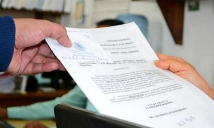 Se reanuda la expedición de Constancias de no antecedentes penales