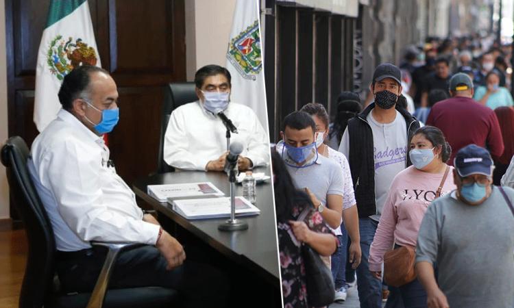 Crítica la batalla de Puebla contra el Covid19; van 175 muertes