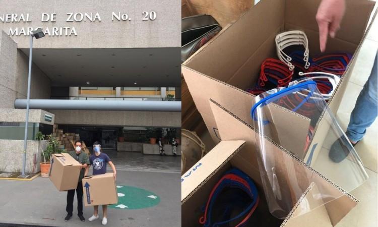 Tec de Monterrey se suma a producción y donación de caretas