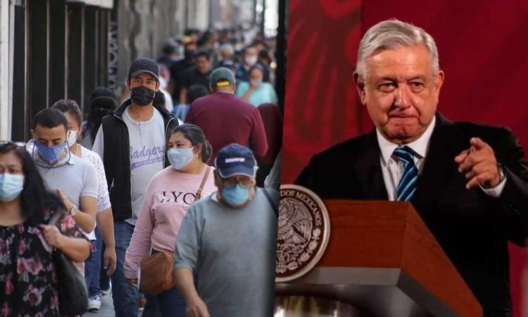 AMLO prevé más contagios de Covid-19 en Puebla