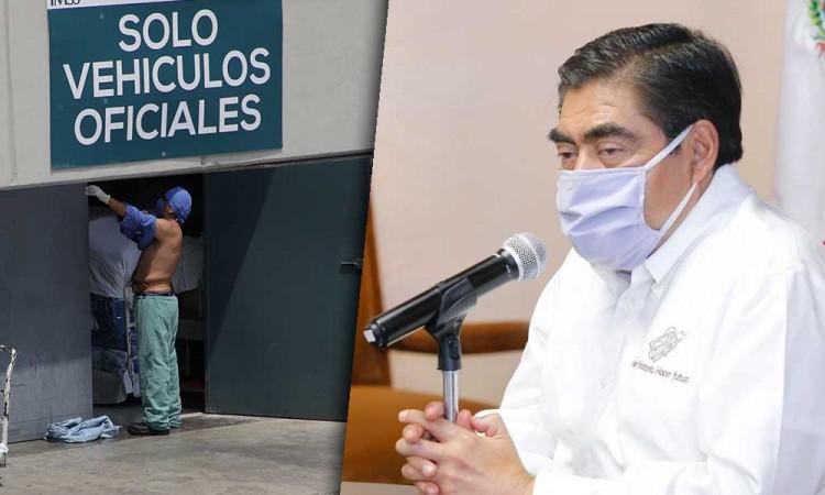 Nos quieren traer enfermos de CDMX a Puebla: Barbosa