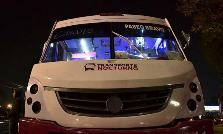 Transporte nocturno, una opción redituable para Ruta