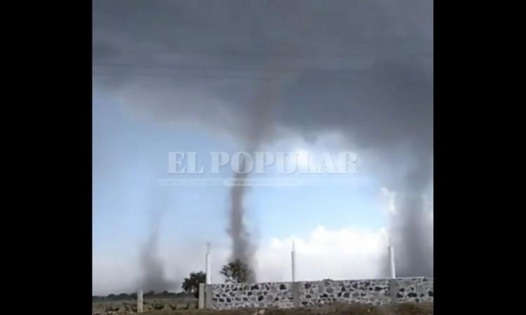 Cambio climático genera tornados: Protección Civil