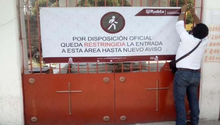 Cancelan visitas a panteones en juntas auxiliares e inspectorías de sección