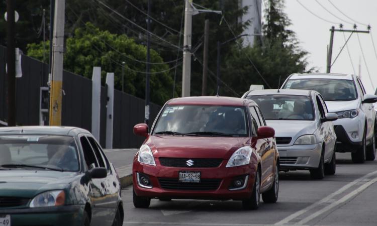 Al corralón 21 autos por no respetar Hoy No Circula en Puebla