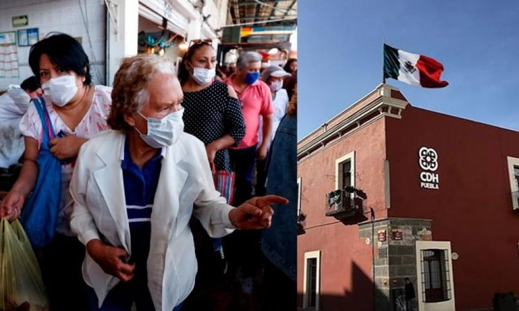 CDH Puebla pide salvaguardar derechos humanos durante pandemia