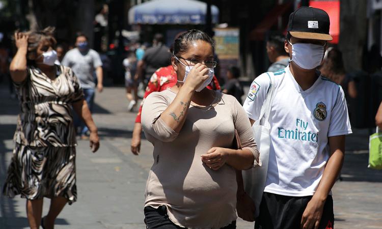 Sigue la cresta de contagios en aumento por Covid-19 en Puebla
