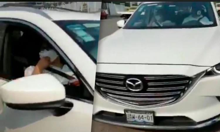 Al corralón, camioneta de líder del PAN por violar Hoy No Circula