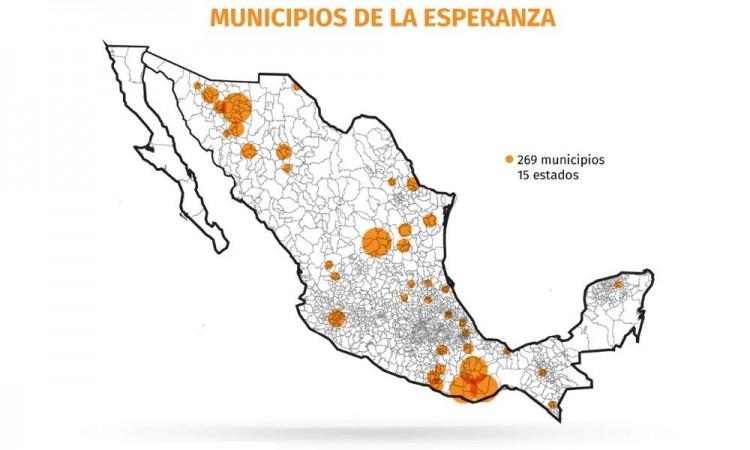 En Puebla habrá 13 Municipios de la Esperanza