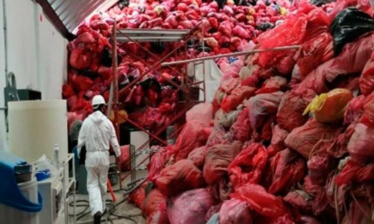Clausuran centro de acopio de residuos tóxicos en Puebla