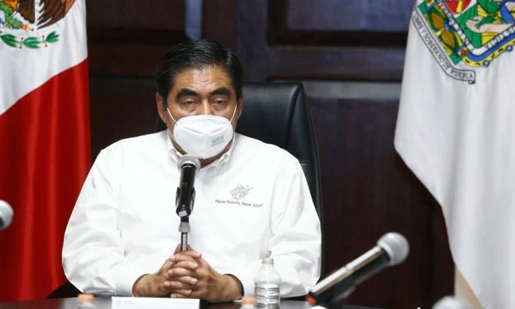 Desmarca Barbosa vinculación con Puebla capital por tema de ventiladores