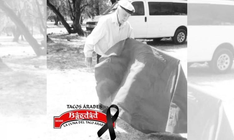 Fallece Don Andrés Galeana, fundador de los tacos árabes en Puebla