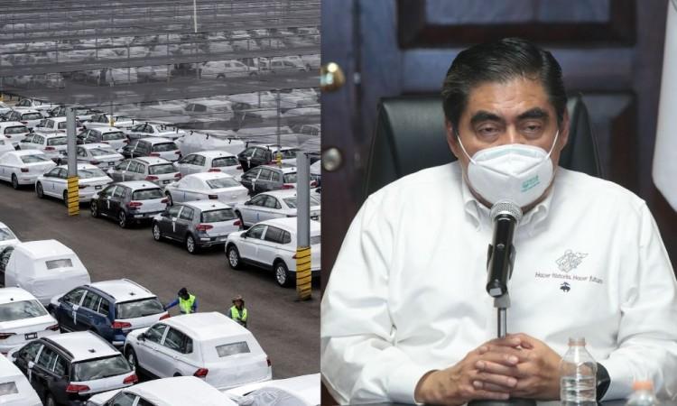 Cede Barbosa y negocia con Volkswagen posible reactivación