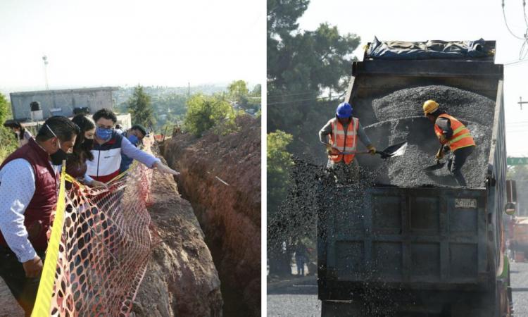 Ante emergencia sanitaria, obras de drenaje son prioridad: Rivera Vivanco