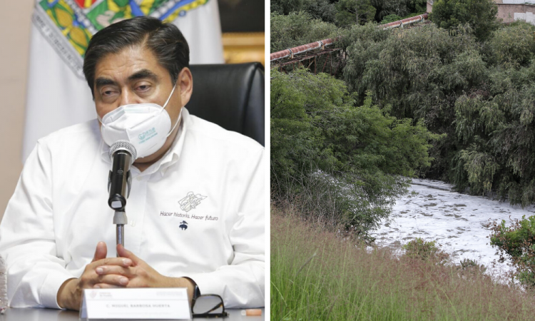Con o sin apoyo, Barbosa clausurará empresas contaminantes del Atoyac