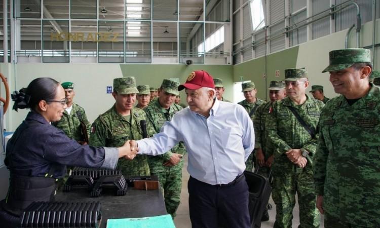 Industria Militar en La Célula a punto de concluir: autoridades