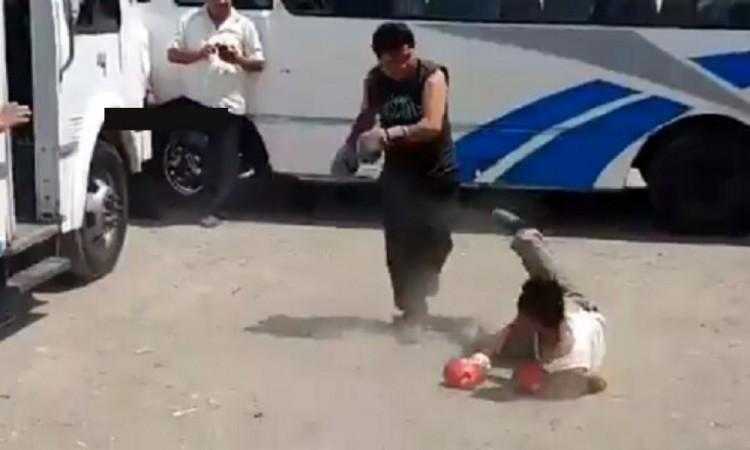 Choferes del transporte público organizan peleas clandestinas en Puebla