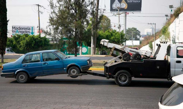 Quinta semana: van 430 autos al corralón en Puebla