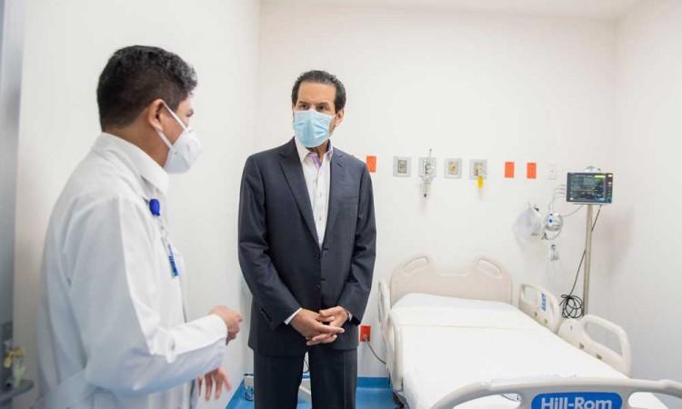 Inauguran en Hospital BUAP área de enfermedades respiratorias