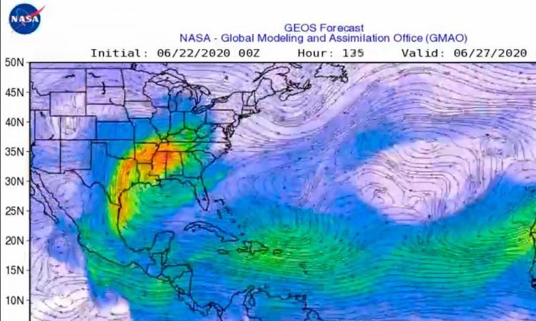 Polvo del Sahara llegará este jueves y viernes a Puebla