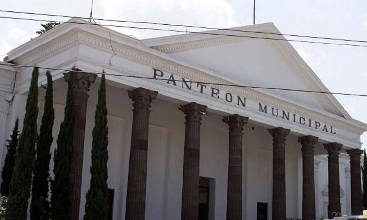Panteón municipal de Puebla.