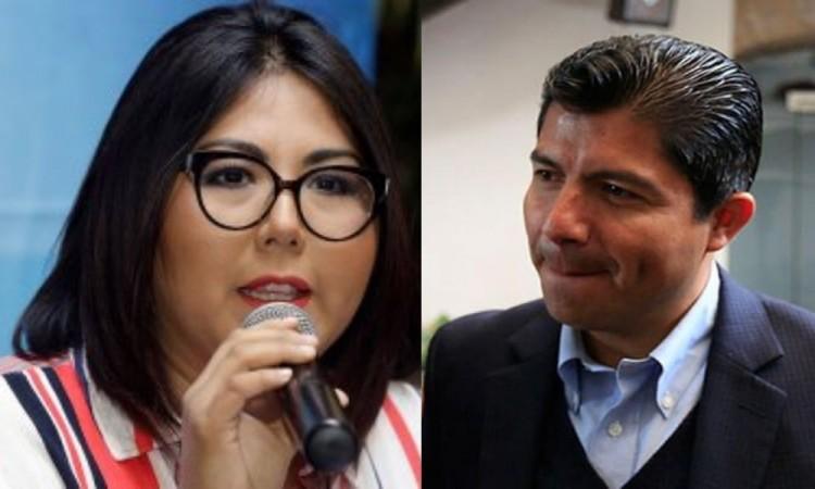 """""""No es tiempo de grilla política"""" responde Eduardo Rivera a Genoveva Huerta"""