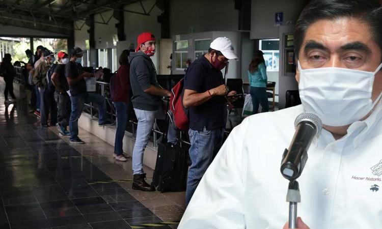 Aunque Federación me lo pida Puebla no pasará de rojo a naranja por el momento: Barbosa