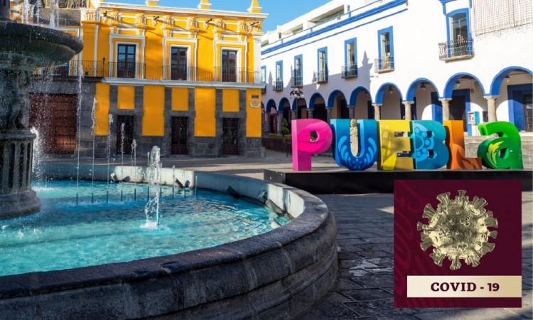 Puebla cerca de los 300 contagios diarios de Covid19
