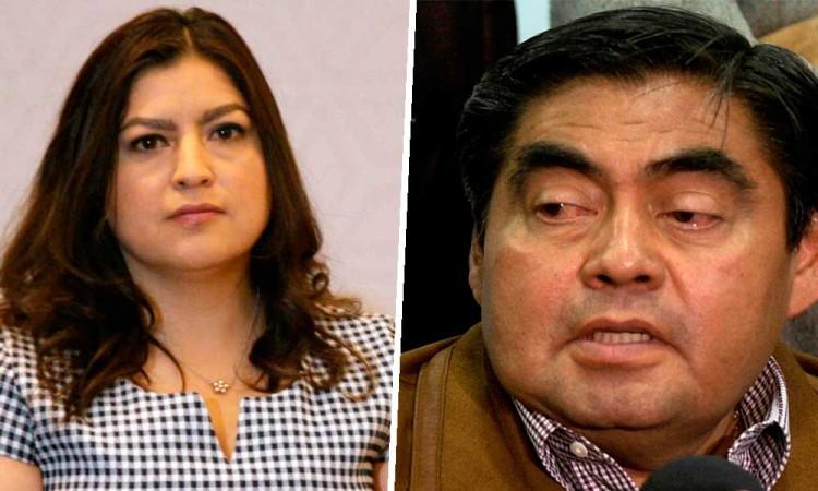 Quiere pleito la señora, dice Barbosa sobre denuncia en su contra por parte de Claudia Rivera