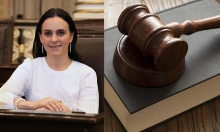 La diputada solicitó participar de forma virtual, petición que fue rechazada.
