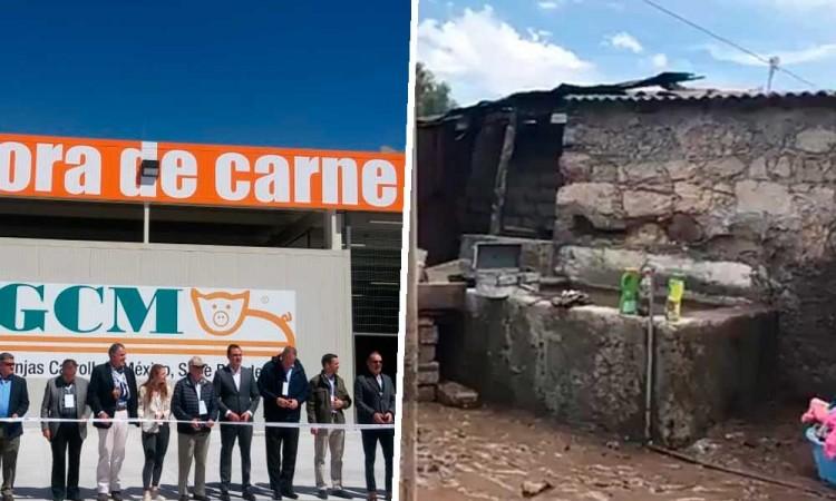 Granjas Carroll ayuda a damnificados por lluvias en Puebla