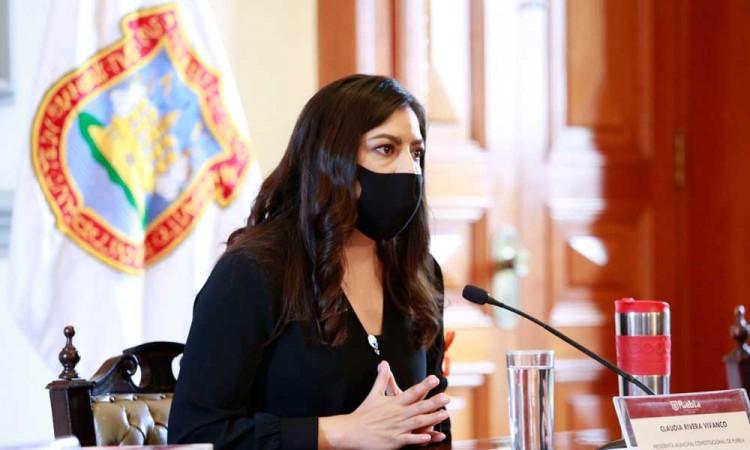 No pienso en la reelección, estoy enfocada en mi administración: Claudia Rivera
