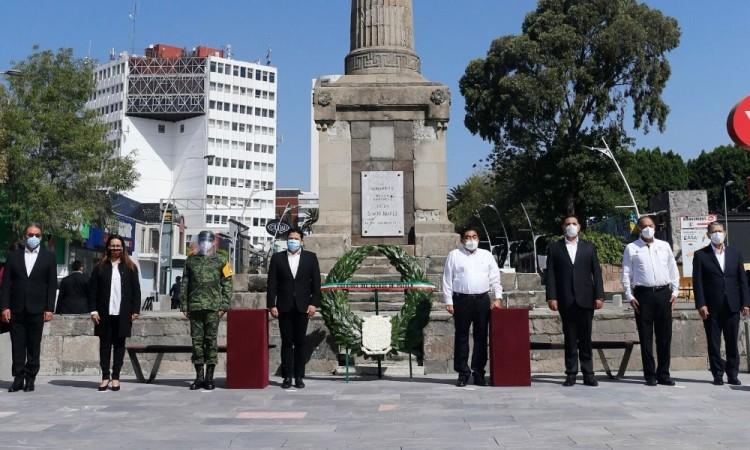 Ceremonia conmemorativa al 148 aniversario luctuoso de Benito Juárez García.