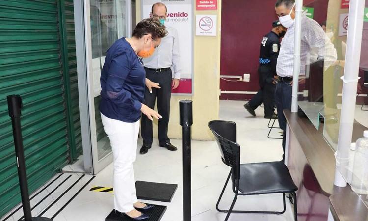 INE comenzará con la apertura gradual de módulos en Puebla