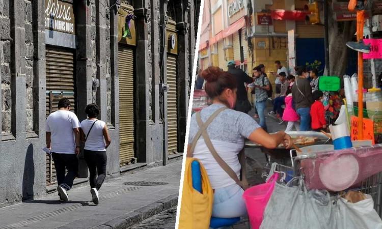 Ambulantes regresan a las calles con aval del gobierno; establecidos siguen sin operar